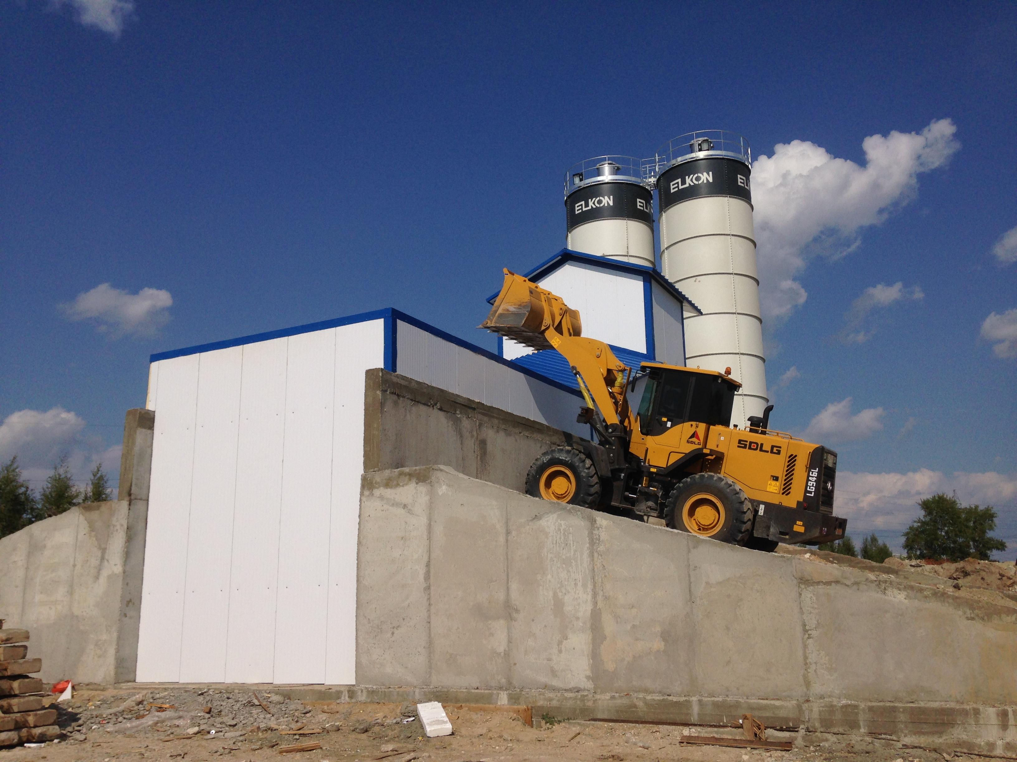 Строительство нового завода